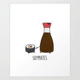 Soymates Art Print