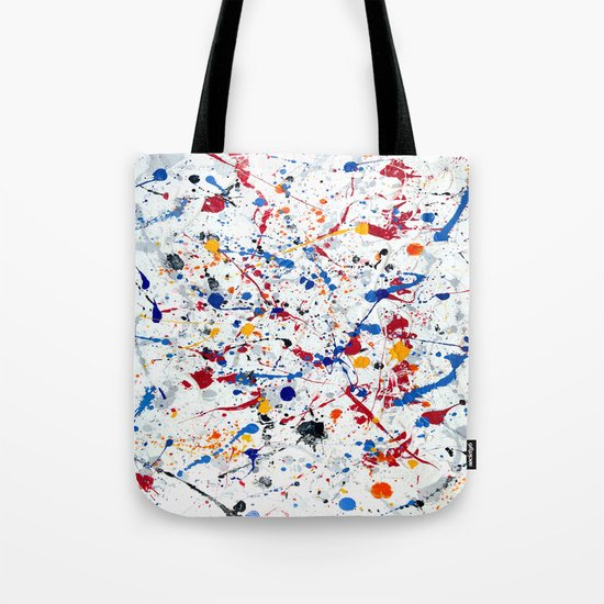 Abstract #3 - Exhilaration Tote Bag