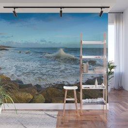 Crashing Waves Wall Mural