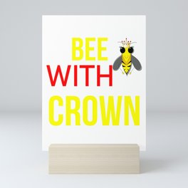QueenBee Mini Art Print