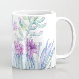 Mixed Cacti White #society6 #buyart Coffee Mug