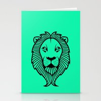 the lion king Stationery Cards featuring Lion King by ArtSchool
