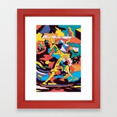 Joli Yoga Framed Art Print