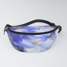 Blue Begonias Fanny Pack