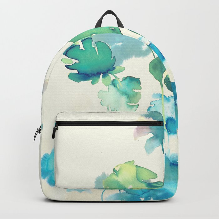 Tropical Leaves Collab. Dylan Silva Backpack