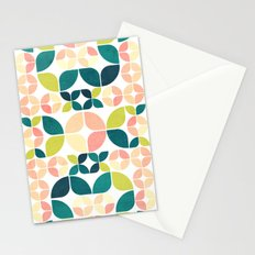 Rose Garden Pattern Stationery Cards