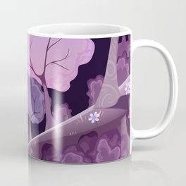 Violet Moon Coffee Mug