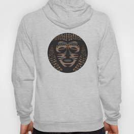 African Tribal Mask No. 1 Hoody