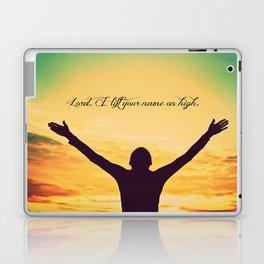 On High Laptop & iPad Skin