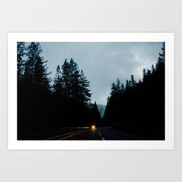 Piercy, CA Art Print