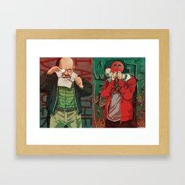 Brba Framed Art Print