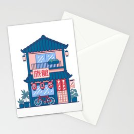 Ramen shop Stationery Cards
