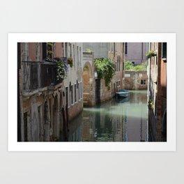 Venetian Side Street Art Print