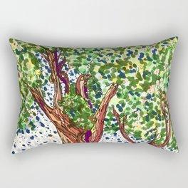 The Olive Tree King Rectangular Pillow