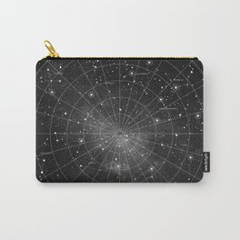 Constellation Star Map (B&W) Carry-All Pouch