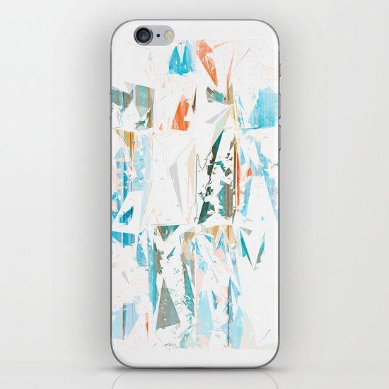 Splinters iPhone & iPod Skin