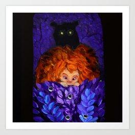 A Bear! Art Print