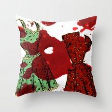Susie homemaker  Throw Pillow