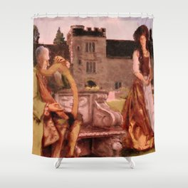 Turlough O'Carolan and Mrs Judge Shower Curtain