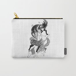 Femme Loup Tattoo Carry-All Pouch