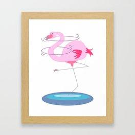 Hula Hoop! Framed Art Print