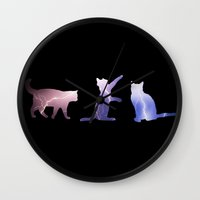 thundercats Wall Clocks featuring Thundercats by Emily Brand