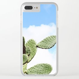 Sky Spikes Clear iPhone Case