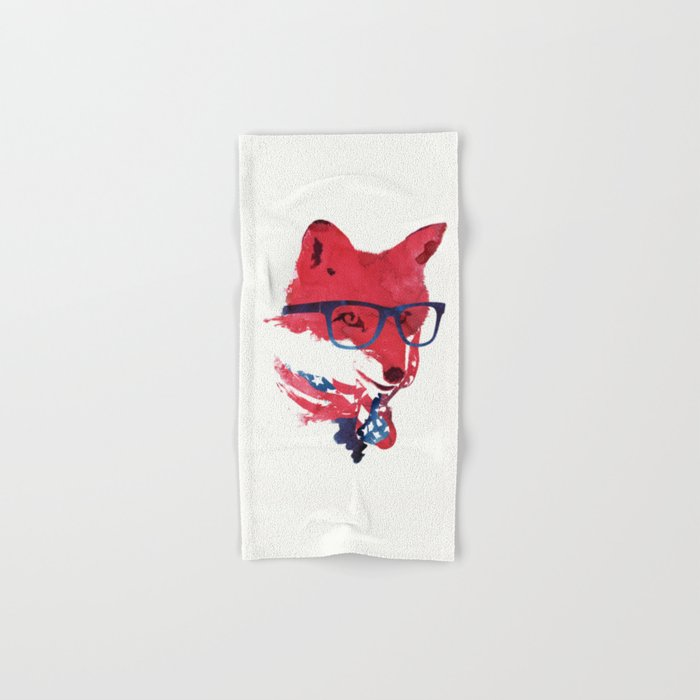 American Fox Hand & Bath Towel
