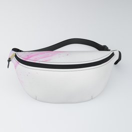 Pink Abstract Fanny Pack