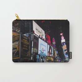 Times Square NYC Carry-All Pouch