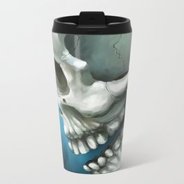Skull 3 Metal Travel Mug