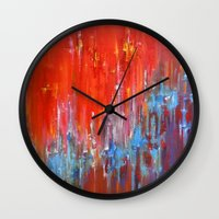 argentina Wall Clocks featuring Argentina by Jeannette Stutzman