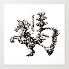 The Zodiac 12 - Horse Canvas Print