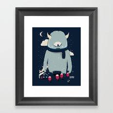 DAMN Framed Art Print