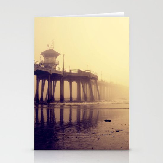 Huntington Beach Pier Stationery Cards