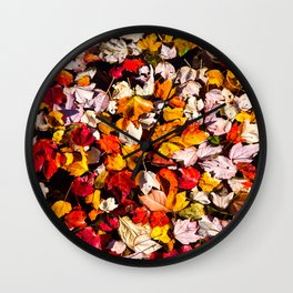 Leaves Galore Wall Clock