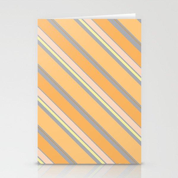 Orange Cream Stationery Cards