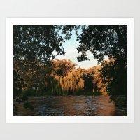 Watertown Sunset Art Print