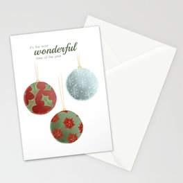 Wonderful Christmas Stationery Cards