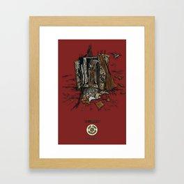 Window (INKollection) Framed Art Print