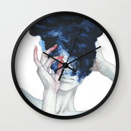 Flaming forests .66 Wall Clock
