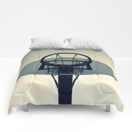 Basketball Sunset Comforters