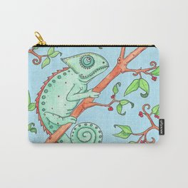 Cute Chameleon Carry-All Pouch
