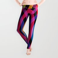 waves Leggings featuring Waves by Gary Andrew Clarke