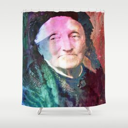 The wise woman Shower Curtain