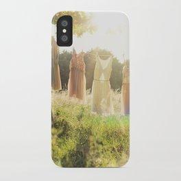 Lace laundry iPhone Case