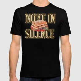 Real G's Move In Silence Like Lasagna T-shirt