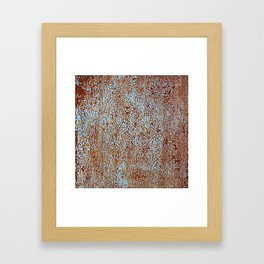 Call Me Rusty. Framed Art Print