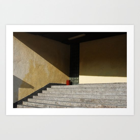 Red Point Art Print