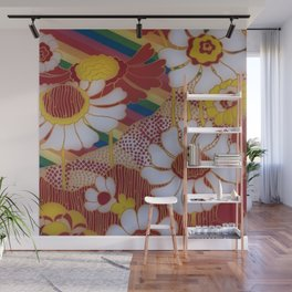 Hippy Style Wall Mural